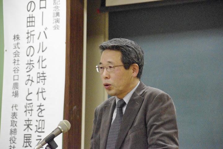 谷口威裕氏(株式会社谷口農場・代表取締役社長)
