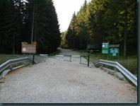 bariera drum forestier Valea Bangaleasa