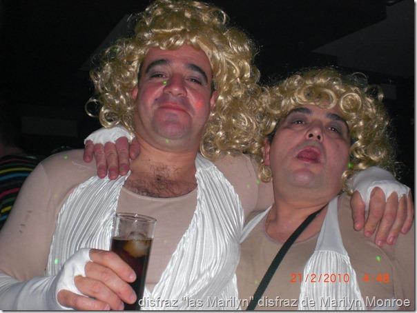 disfraz de marilyn monroe para hombres