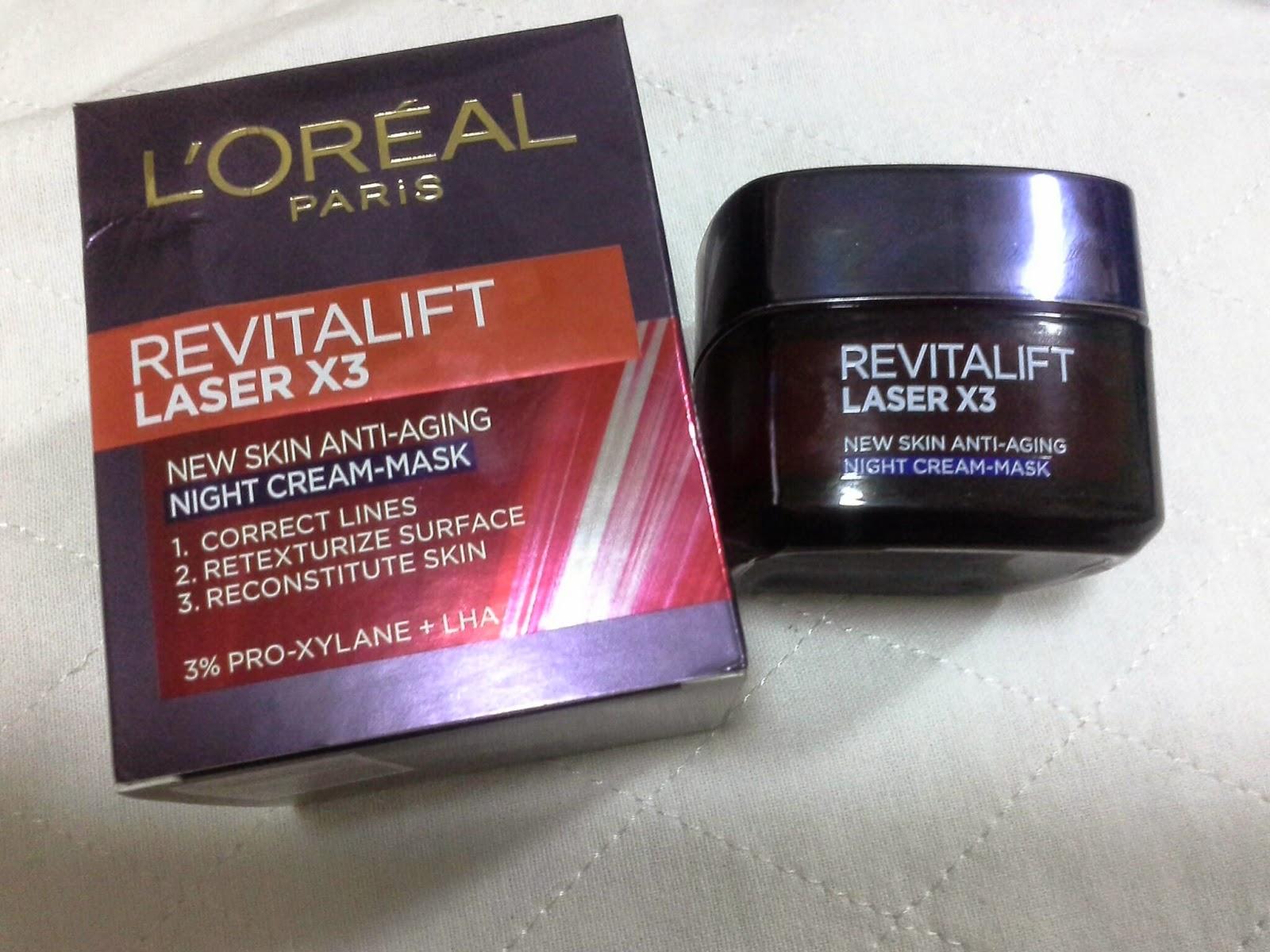 Cream Loreal Revitalite Laser 3: customer reviews