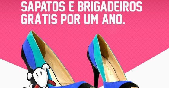 9c3cc02ee7 Sapatos e Brigadeiros grátis por um ano – Promoção Vininha e Omar Calçados.