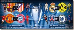 llaves cuartos de final champions league