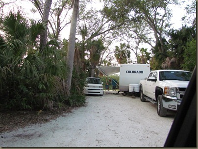 Fort Desoto campsites, site 188