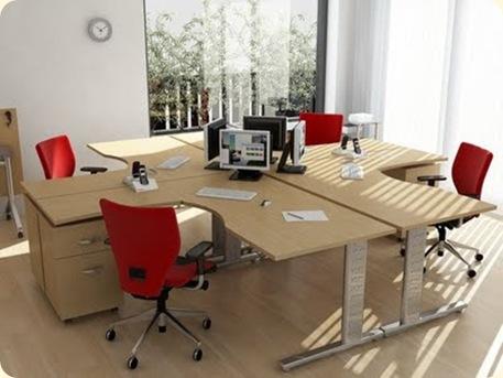 Escritorios de madera para oficinas decoraci n de - Escritorios de madera para oficina ...