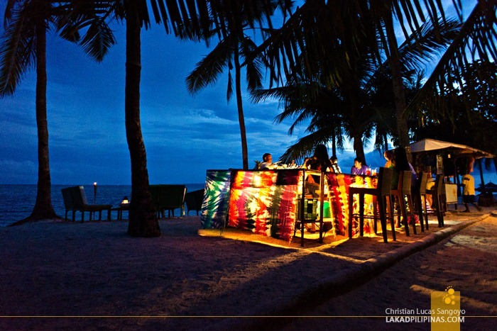 Night Life at Malapascua's Bounty Beach