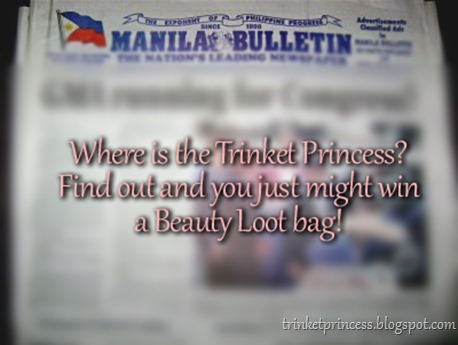 manila bulletin trinket princess