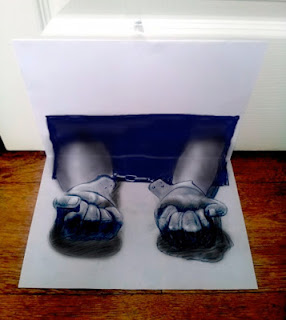 3D Illusion Drawing Seen On www.coolpicturegallery.us