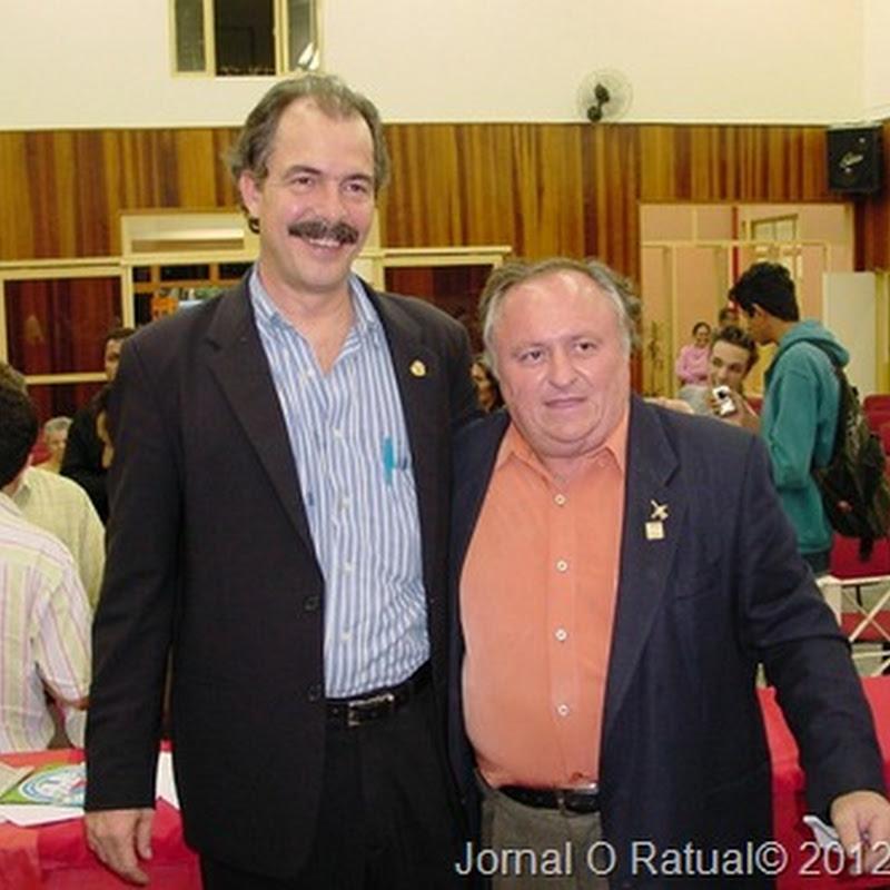 Mercadante, Ministro da Educação e Amigo do Ratual.