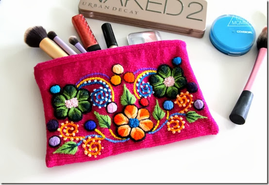 Gorgeous handmade makeup bag from Kusilife