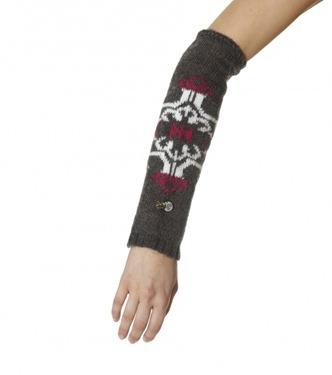 #297 Achuar sleevewarmer d grey