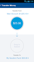 Screenshot of Bluebird by American Express