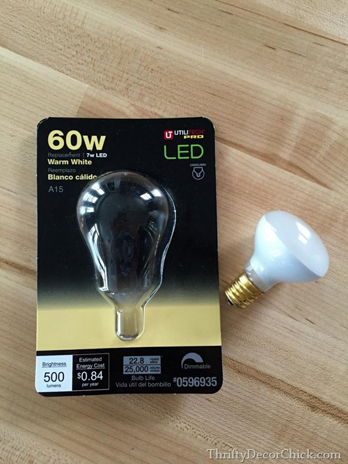 light bulbs for IKEA lamps