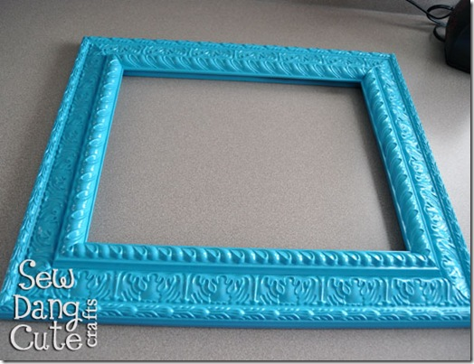 Painted-frame-valspar-exotic-sea