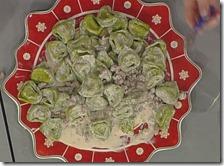 Balanzoni conditi con salsiccia e mascarpone