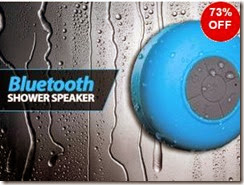 Rediff : Buy Waterproof Bluetooth 3.0 Edr Shower Speaker at Rs.798 only