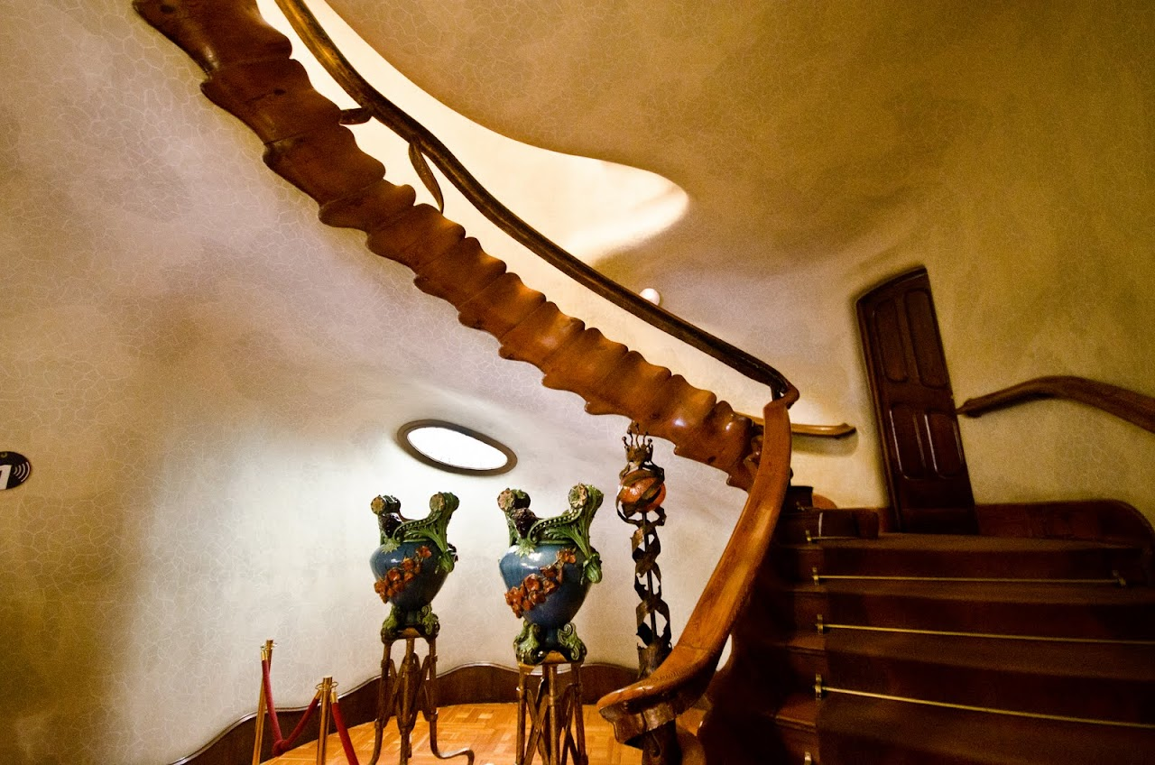 Staircase to Casa Batllo