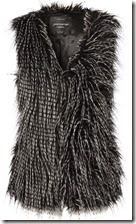 Jane Norman Faux Fur Gilet