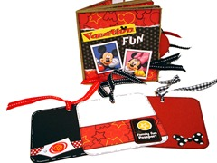 Disney Vacation Fun Scrapbook 7