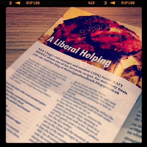 #333 - Coca Cola ham in Ad Lib Magazine