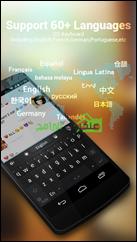 دعم العديد من اللغات أكثر من 60 لغة