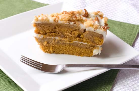 3pumpkin crunch cake