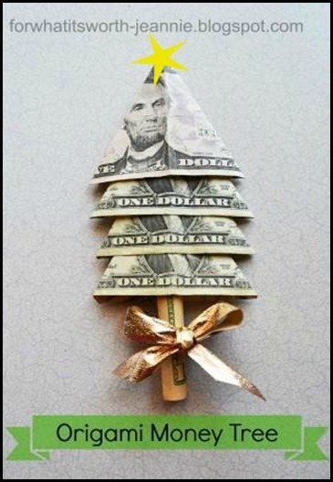 origami-money-tree