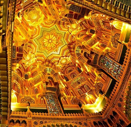 The_Arab_Room_Ceiling,_Cardiff_Castle2