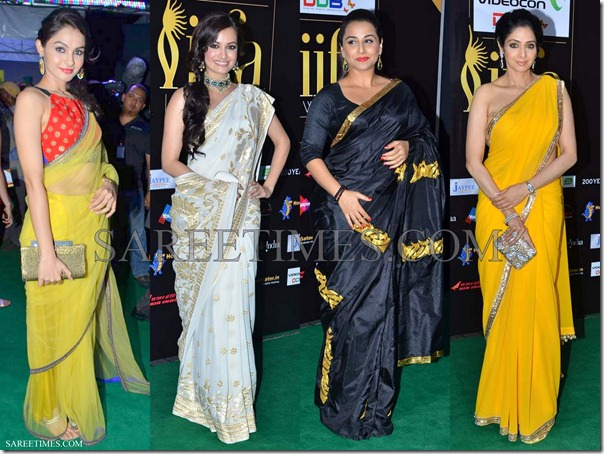 Bollywoood_Sarees_IIFA_Awards