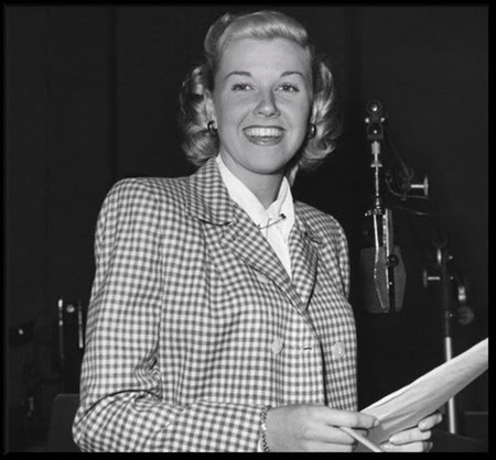 Doris on the Bob Hope radio program, 1949