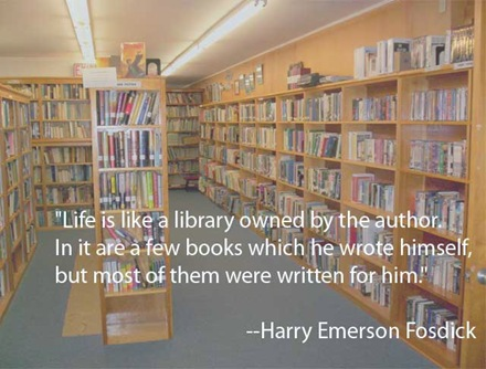 Life is like a library