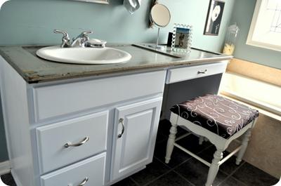 shutter bathroom vanity