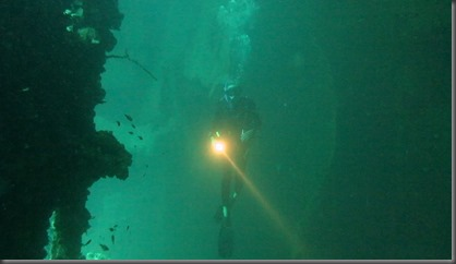 wreck diving in coron phillippines
