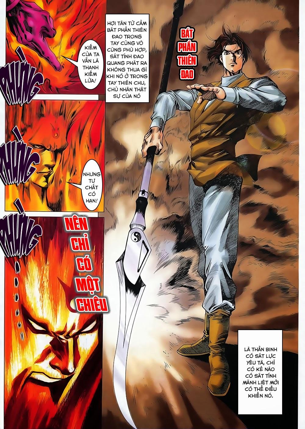 Lục Đạo Thiên Thư chap 31 - Trang 8