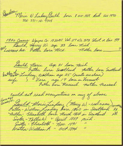Notes from FHC in 2000-2