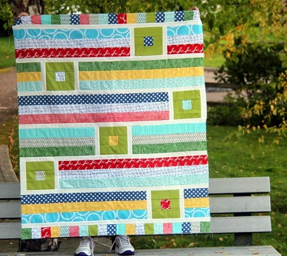 A Back to School Quilt, Cluck Cluck Sew