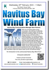 Navitus Bay Windfarm 25 February 2015
