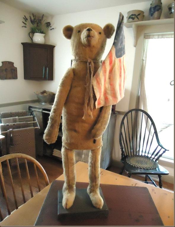 Patriotic bear 1