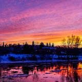 Clark Fork Sunset. ©Matt Rogers http://www.merphoto.printroom.com/