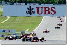 Vettel vince il gran premio di Germania 2013