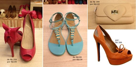 Datelli calçados em Liquidação Verão 2012 com até 70% off.