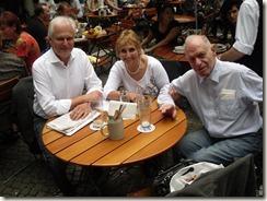 Ankunft in Deutschland, Frankfurt und Mnchen mit Harald Zintl 006