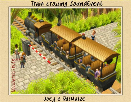 Train crossing SoundEvent (Joey e DasMatze) lassoares-rct3