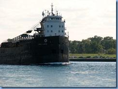3655 Ontario Sarnia - St Clair River - John D. Leitch lake freighter