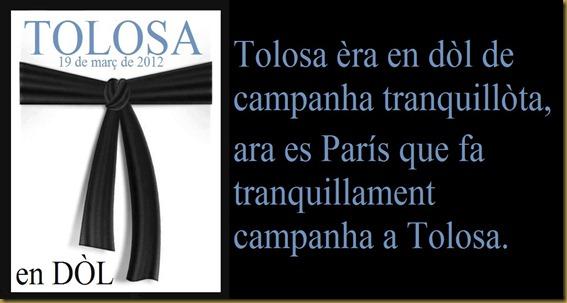 Tolosa e ndòl de campanha