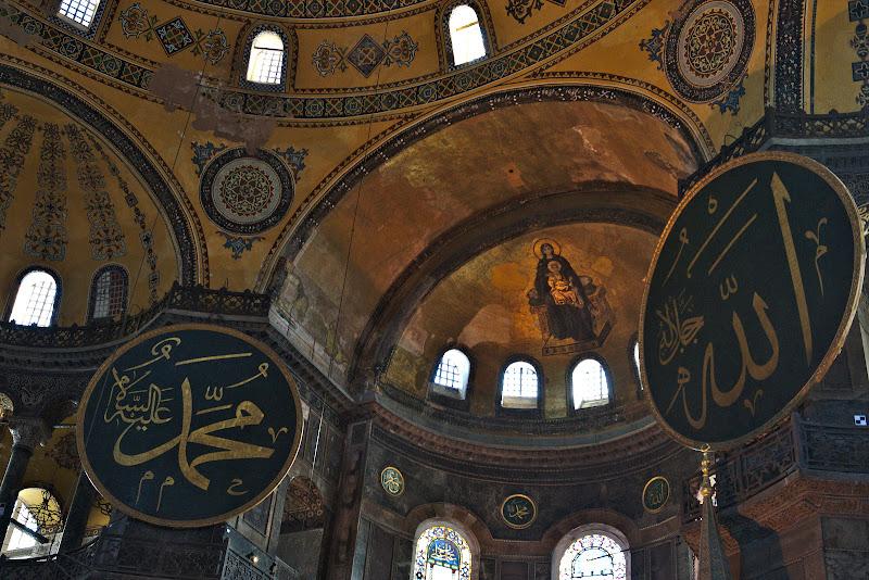 Hagia Sofia, imbinare.