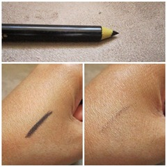 love & beauty eye liner swatch