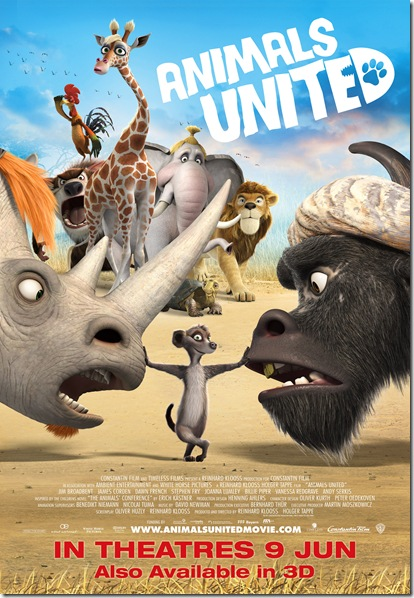 Animals United - A4 Poster(Available 3D)
