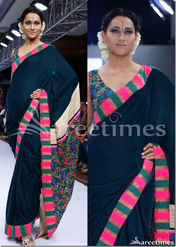 Black_Designer_Georgette_Saree