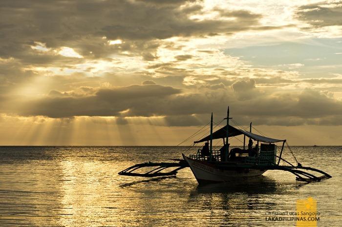 Sunset at Malapascua's Bounty Beach