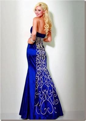 Azul bordado